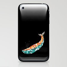 For the Love of Whales iPhone & iPod Skin