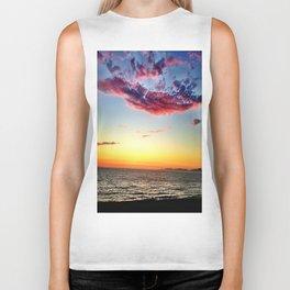 "Redondo Beach ""Red Clouds"" Biker Tank"