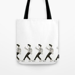 Talkless Man Tote Bag