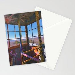 hickory ridge firetower Stationery Cards