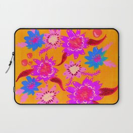 Neon Violets Laptop Sleeve