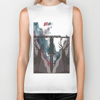 skyfall Biker Tanks featuring Skyfall Movie Poster by Salmanorguk