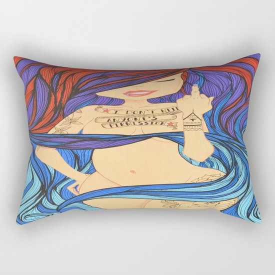 Or Approval Rectangular Pillow