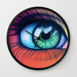 Kaleidoscopic Vision Wall Clock