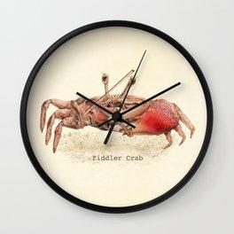 Fiddler Crab Wall Clock