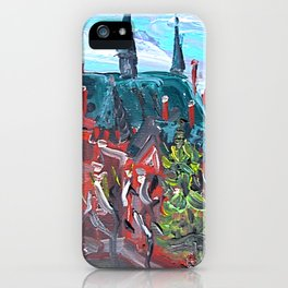 Latvian Academy of Art in Riga, Latvia iPhone Case