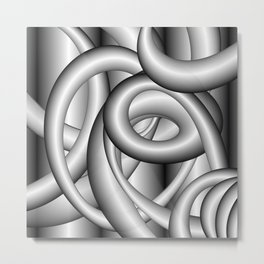 Complex Metal Print