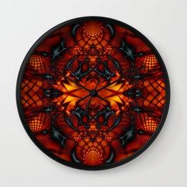 Fractal Art - Devil I Wall Clock