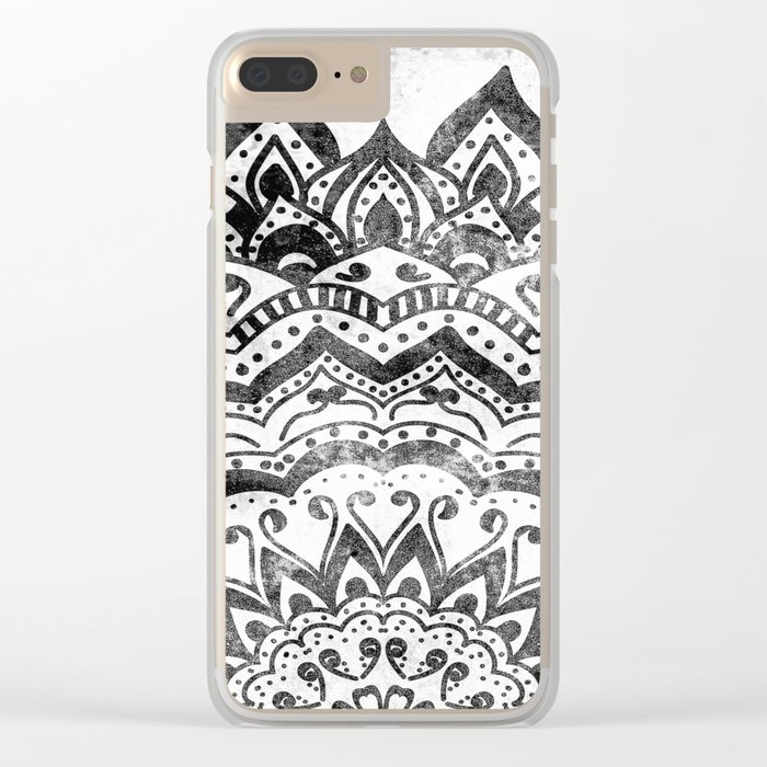 ORION JEWEL MANDALA Clear iPhone Case