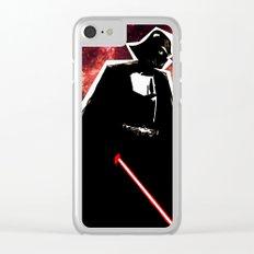 Darth, Dark, Black Clear iPhone Case