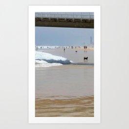 Sun Sand Surf Art Print