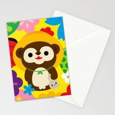 Tanuki Stationery Cards