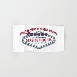 Seaside Heights - New Jersey. Hand & Bath Towel