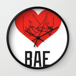 BAE Wall Clock