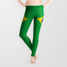 Flag of Brazil Leggings