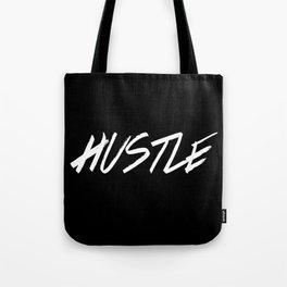 Hustle Typography Inspiration Tote Bag