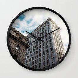 Atlanta buildings Wall Clock