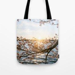 Sun Over the Horizon Tote Bag