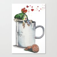 cookies Canvas Prints featuring cookies by Giselfust