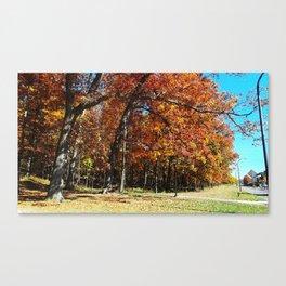 A Perfect Autumn Canvas Print