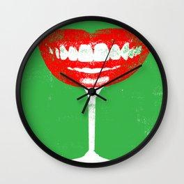 Giggle Juice Wall Clock