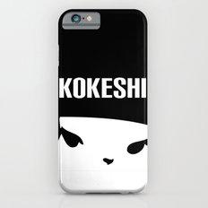 Kokeshi Logo Square Design MORE BLACK Slim Case iPhone 6s