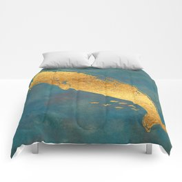 Deep Sea Life Whale Comforters