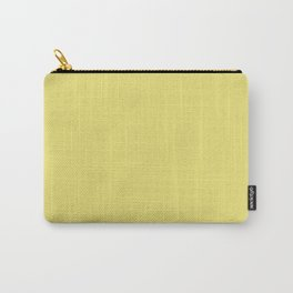 Solid Harvest Yellow Gold Color Carry-All Pouch