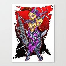 METAL MUTANT 2 Canvas Print