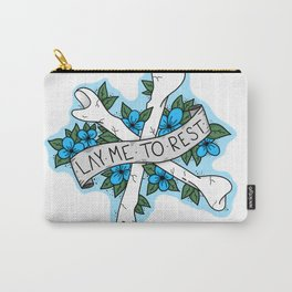 Lay me to Rest Carry-All Pouch