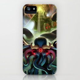 0937, the Number of BrikThulhu iPhone Case
