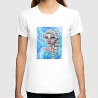 frozen elsa T-shirts featuring .:Elsa:. by Kimberly Castello
