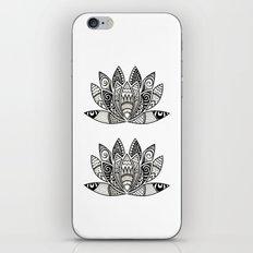 Tangled Lotus iPhone & iPod Skin