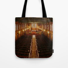 Old Warm Church Tote Bag
