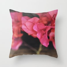 Rosewood Throw Pillow