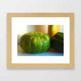 Bright Kobocha Framed Art Print