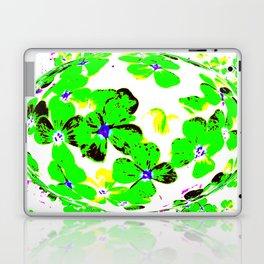 Floral Easter Egg Laptop & iPad Skin