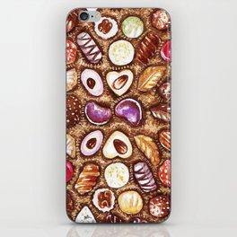 Chocolates for my sweety iPhone Skin