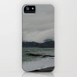 kaikoura shore II iPhone Case