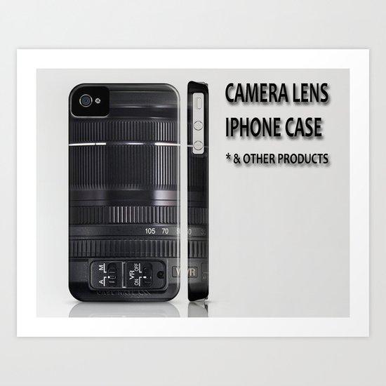 Camera Lens Art Print