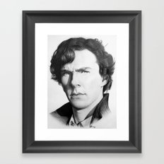 The Consulting Detective Framed Art Print