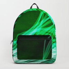 Linear Flow3 Green Backpack