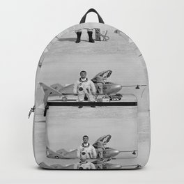 X-24A on Lakebed Backpack