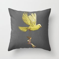 Higher... up to the sky!! Throw Pillow
