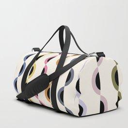 Gwynne Pattern - Retro Tones Duffle Bag