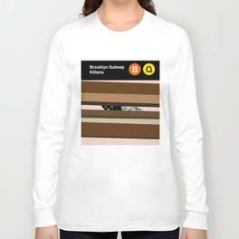 Brooklyn Subway Kittens Long Sleeve T-shirt