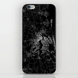 Jacksonville map iPhone Skin