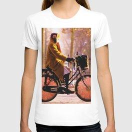 Orange cycle d'Italie Paris T-shirt
