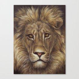 Animals | Lion Portrait | Nature | Painting | Art Canvas Print
