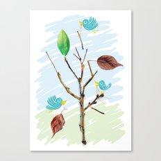 Rebuild Canvas Print